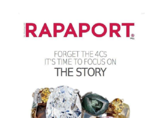 Rapaport Magazine Cover - M2M Coverage