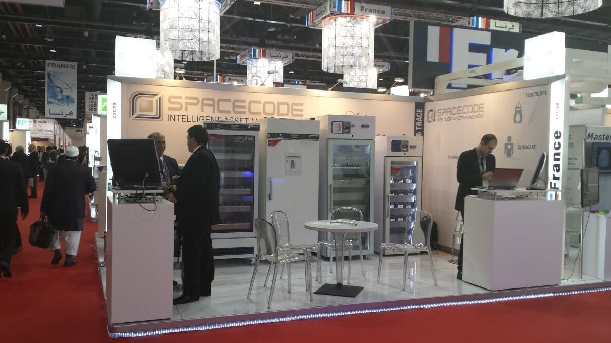 Spacecode Exhibiting at Arab Health 2014
