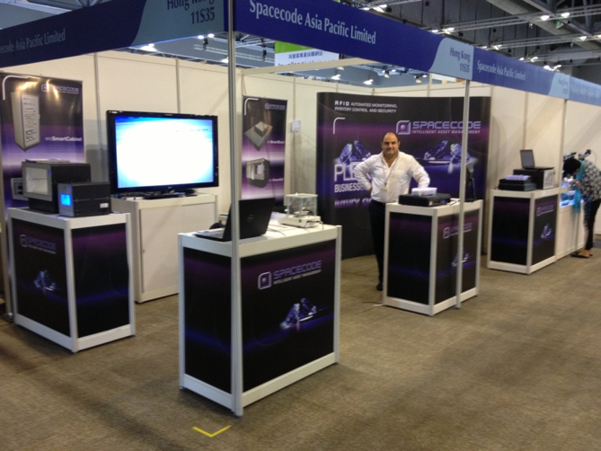Spacecode's presence at the Hong Kong Gem Fair 2013