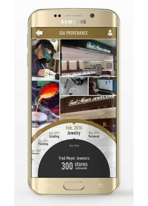 Diamond Provenance - Mine to Market (M2M) app for retailers to brand their customer experience
